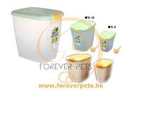 30分積分換領-IRIS MFS-10 密封糧食儲存桶 10kg (黃)