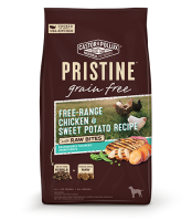 Pristine 無穀物 全犬糧 放養雞 甜薯 凍乾生肉塊 配方 4lb