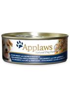 Applaws Dog 全天然 狗罐頭 -  雞胸 三文魚 蔬菜 156g