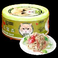 Petsgoal x 忌廉哥 貓罐頭 -  雞肉 牛肝 70g