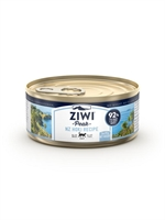 ZiwiPeak - 罐裝料理 (貓用) - 長尾鱈魚配方 85g - 24罐優惠(狗會優惠不適用)
