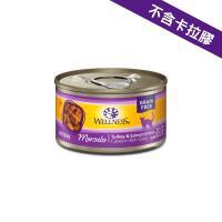 Wellness 貓罐頭 (無穀物配方) - 火雞肉拼三文魚 3oz (紫)