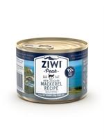 ZiwiPeak - 罐裝料理 (貓用) - 鯖魚配方 185g - 12罐優惠(狗會優惠不適用)