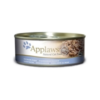 Applaws 全天然 156g 貓罐頭 - 海魚 (大)