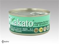 Kakato 卡格 Tuna & Cheese 吞拿魚、芝士 (貓狗合用) 170g