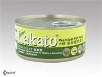 Kakato 卡格 Tuna Fillet 吞拿魚 罐頭 (貓狗合用) 70g
