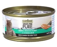 CANIDAE® PURE 三文魚與白身魚貓罐頭 (肉塊) 70g