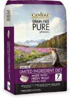 Canidae PURE Stream for Cats 無穀物 鱒魚 貓配方 10lb