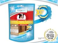 bogadent® Dental Fibre Flexies 天然高纖酵素防牙石咬咬條 (中型犬) 70g