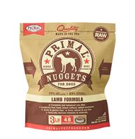 Primal (原始)-Canine Frozen Formula (Lamb)犬用急凍鮮肉- 羊配方 3lb