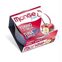 Monge 清新水果系列 - 吞拿魚+蘋果 80g