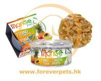 Monge 清新水果系列 - 吞拿魚+雜果 80g