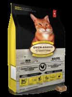 Oven-Baked Cat 北美走地雞配方 - 成貓糧 10lb (黃)