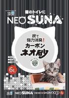 日本 NEO SUNA活性炭紙砂 6L