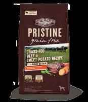 Pristine 無穀物 全犬糧 草飼牛 甜薯 凍乾生肉塊 配方 10lb