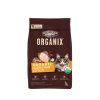 Organix 穀物 全貓糧 有機雞肉糙米配方 3lb