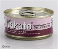 Kakato 卡格 Beef Mousse 牛肉慕絲 (貓狗合用) 70g