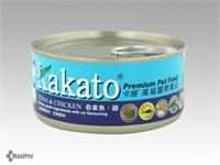 Kakato 卡格 Tuna & Chicken 吞拿魚 雞肉 罐頭 (貓狗合用) 70g