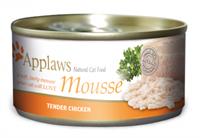 Applaws 全天然 慕絲 罐頭 - 雞肉 70g (細)