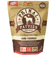 Primal (原始)-Canine Frozen Formula (Lamb)犬用急凍鮮肉- 羊配方 6lb (4包優惠裝)
