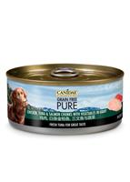 CANIDAE® PURE  雞肉 白身吞拿魚 三文魚與蔬菜 狗罐頭 156g
