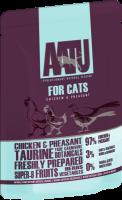 AATU 貓濕糧系列 - 雞、野雞 85g