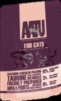 AATU 貓濕糧系列 - 雞、三文魚、海蝦 85g