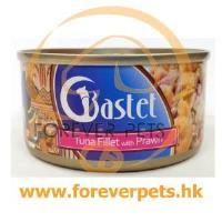 Bastet Tuna Fillet with Prawn 鮮嫩吞拿魚蝦 170g