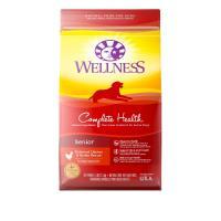 Wellness Complete Health 全能配方 - 老犬 (雞肉燕麥) 15lb (紅色)