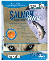 Addiction (狗糧) - 無穀物 藍三文魚 Salmon 配方 4lb