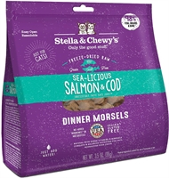 Stella & Chewy's - Freeze Dried Sea Licious Salmon Cod Dinner - 三文魚鱈魚 貓配方 3.5oz