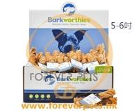 優惠組合5條裝-Barkworthies Tripe Twist 天然風乾(無注射激素及賀爾蒙)南美放牧 牛胃扭紋條 5-6