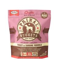 Primal (原始)-Canine Frozen Formula (Turkey&Sardine)犬用急凍鮮肉- 火雞加沙甸魚配方 3lb