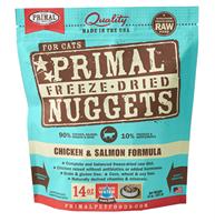 Primal (原始)-Feline Freeze-Dried Formula (Chicken&Salmon) 脫水糧 貓配方 - 雞加三文魚 14oz