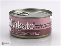 Kakato 卡格 Chicken, Salmon & Vegetables 雞、三文魚、蔬菜 (貓狗合用) 170g