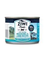ZiwiPeak - 罐裝料理 (貓用) - 鯖魚 羊肉配方 185g - 12罐優惠(狗會優惠不適用)