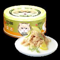 Petsgoal x 忌廉哥 貓罐頭 -  三文魚 魚湯 70g