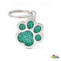 My Family - Shine & Reflective Paw Glitter Green (GL02V)
