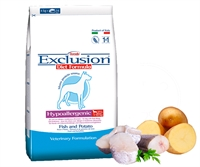 Exclusion Diet Fish & Potato  無穀物成犬配方 - 丹麥鯡魚 3kg