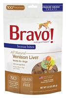 Bravo - Freeze Dried Venison Liver 脫水草飼鹿肝 3oz.
