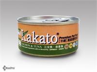 Kakato 卡格 Salmon & Tuna 三文魚、吞拿魚 (貓狗合用) 70g
