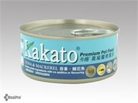 Kakato 卡格 Tuna & Mackerel 吞拿魚、鯖花魚 罐頭 (貓狗合用) 170g