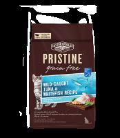 Pristine 無穀物 全貓糧 野生捕撈吞拿魚 白魚 配方 3lb