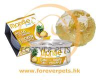 Monge 清新水果系列 - 雞肉+菠蘿 80g