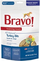 Bravo - Training Treats Turkey Bites 脫水火雞訓練小食 2.5oz