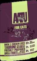 AATU 貓濕糧系列 - 雞肝、鴨肉 85g