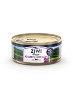 ZiwiPeak - 罐裝料理 (貓用) - 兔肉 羊肉配方 85g - 24罐優惠(狗會優惠不適用)