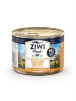 ZiwiPeak - 罐裝料理 (貓用) - 放養雞配方 185g - 12罐優惠(狗會優惠不適用)