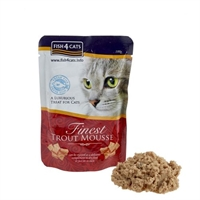 Fish4Cats Finest Trout Mousse for Cats 海藻精華鳟魚慕思(貓)99g