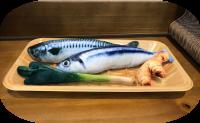 秋刀魚及鯖魚 薑蔥 貓草套裝